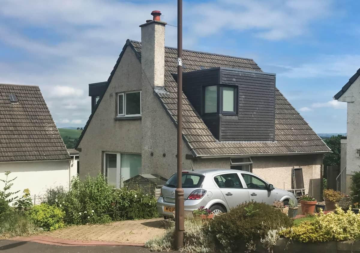 Dormer Extension Linlithgow after 2